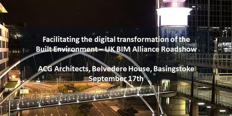 UK BIM Alliance Roadshow - Basingstoke tickets