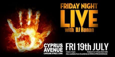Friday Night Live tickets