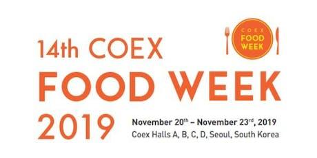 Exhibit at Food Week Korea 2019 tickets