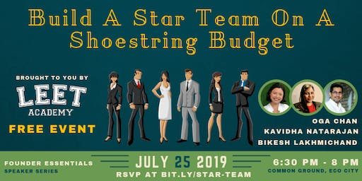 Build A Star Team On A Shoestring Budget
