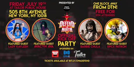 Defend the North Official Kick Off Party tickets