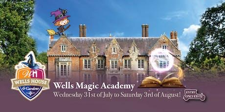 Wells' Magic Academy - Wednesday, 31 July tickets