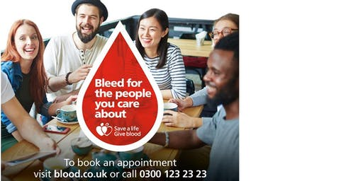 Give Blood in Norton