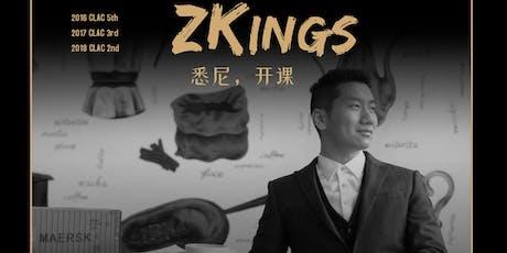 Sydney - Zkings 3 Full Days Master Class tickets