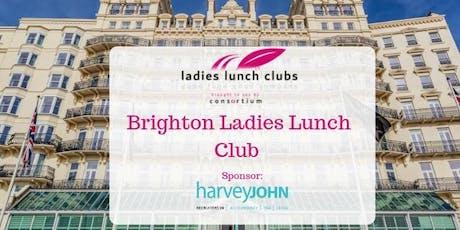 Brighton Ladies Lunch Club - 10th December 2019 tickets