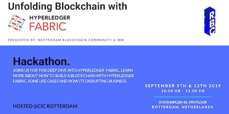Blockchain Hackathon - Hyperledger Fabric  tickets