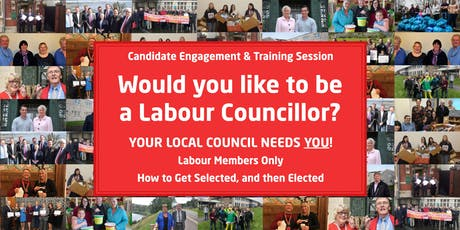 Would you like to be a Labour Councillor? Part 2 tickets