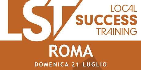 LST+Vi University ROMA - Domenica 21 Luglio 2019 biglietti
