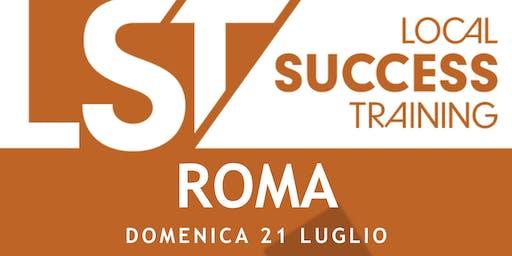 LST+Vi University ROMA - Domenica 21 Luglio 2019