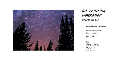 Oil Painting Workshop by Zan - Starry Night by brush tickets