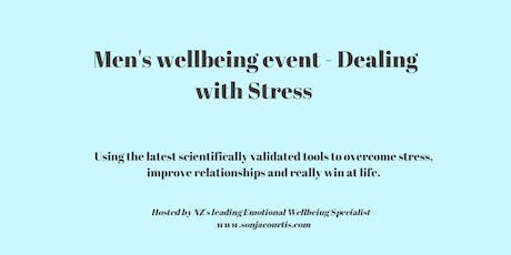 Mens Wellbeing Event - Dealing with Stress tickets