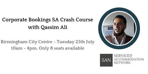 Birmingham Corporate Bookings Crash Course with Qassim Ali - Serviced Accommodation Network