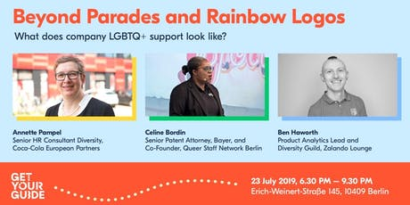 Beyond Parades & Rainbow Logos - What does company LGBTQ support look like? tickets