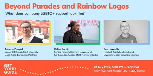 Beyond Parades & Rainbow Logos - What does company LGBTQ support look like?