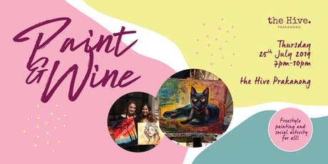 Paint & Wine tickets