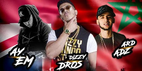 Dizzy Dros, Ard Adz & Ay Em LIVE on Sunday 4th August tickets