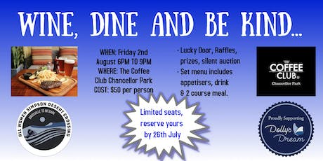 Wine, Dine & Be Kind tickets