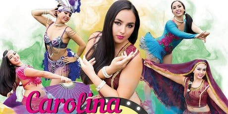 TWO Belly Dance Class with Carolina Hernandez  tickets