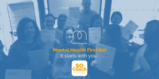 Mental Health First Aid - Warrington - Adult Two Day