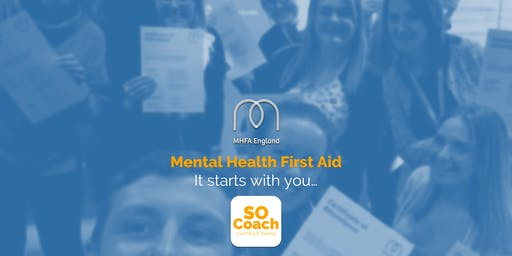 Mental Health First Aid - Wigan - Adult Two Day