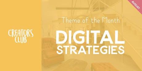 Creators Club London | Digital Strategies tickets