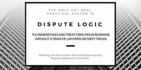 Dispute Logic for Business: Seattle (22-23 Feb 2020) tickets