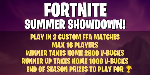 Fornite Summer Showdown Week 1