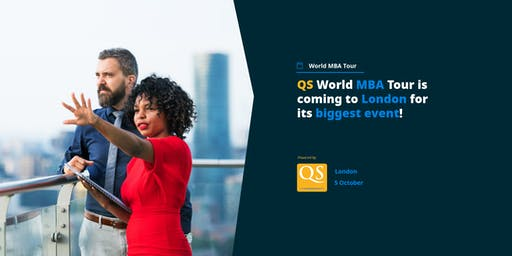 QS World MBA Tour is coming to London for its biggest event!