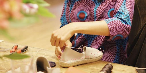 Make your own espadrille shoes