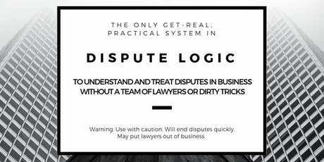 Dispute Logic for Business: Paris (20-21 March 2020) billets