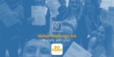 Mental Health First Aid - Wigan - Adult Two Day tickets