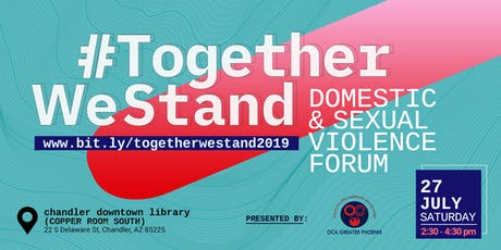 Together We Stand: Domestic and Sexual Violence Forum tickets