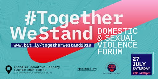 Together We Stand: Domestic and Sexual Violence Forum