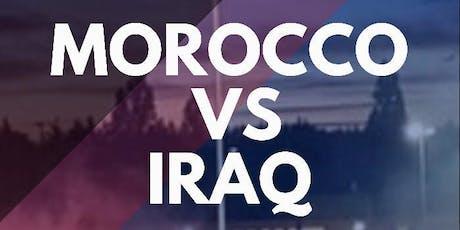 Morocco vs Iraq Charity Match tickets