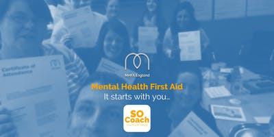 Mental Health First Aid - Crewe - ***** Two Day