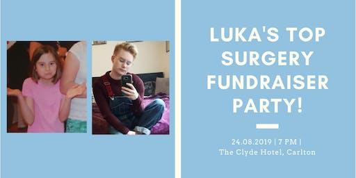 Luka's Top Surgery Fundraiser!