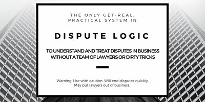 Dispute Logic for Business: Amsterdam 30-31 March