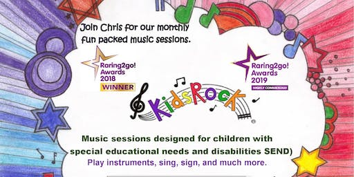 Kids Rock SEND Music Session