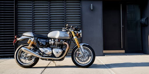 Triumph Thruxton R Test Ride