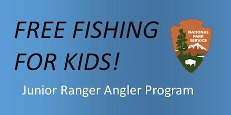 Junior Ranger Angler Program tickets