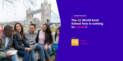 The QS World Grad School Tour is coming to London!