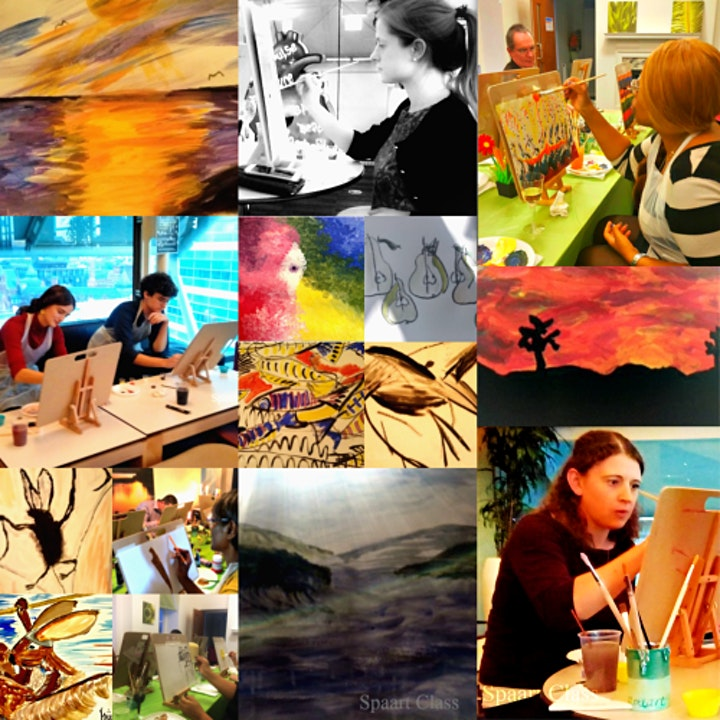 Spaart Class, The Art Class to Relax and Unwind image