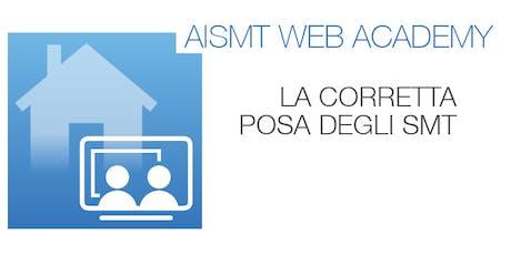 WEBCONFERENCE AISMT - La corretta posa degli Schermi e Membrane Traspiranti biglietti