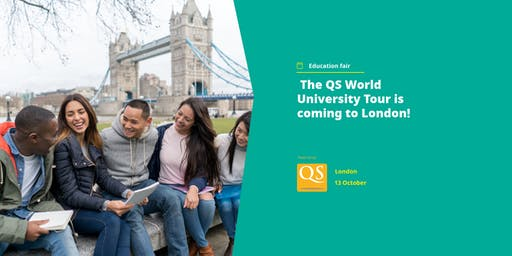 The QS World University Tour is coming to London!