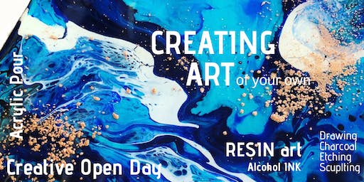Creating Art - Sunday 4th August