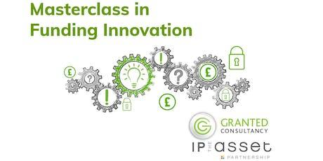 Masterclass in Funding Innovation  tickets