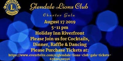 Glendale Lions Club Charter Party