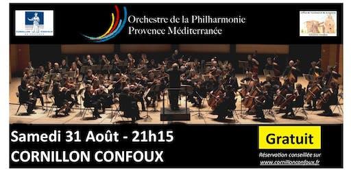 31 août- Orchestre Philharmonique Provence Méditerranée-GRATUIT