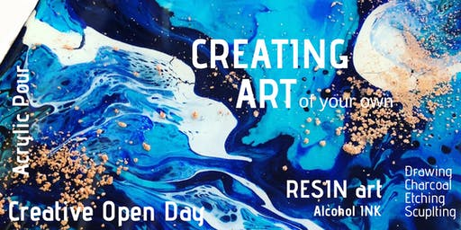 Creating Art - Saturday 3rd August