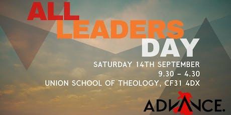 Advance Cymru: All Leaders Day tickets